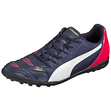 Buy Puma Evopower 4.2 TT Football Boots, Navy/Pink Online at johnlewis.com