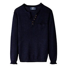Buy Mango Kids Boys' Welt Jumper Online at johnlewis.com
