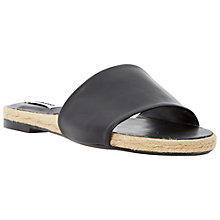 Buy Dune Latted Flat Leather Sandals Online at johnlewis.com