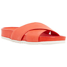 Buy Dune Larris Crossover Leather Sandals Online at johnlewis.com
