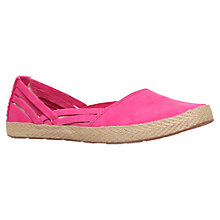Buy UGG Cicily Nubuck Espadrilles, Tropical Sunset Online at johnlewis.com