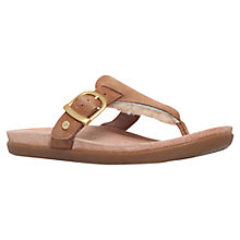Buy UGG Vessa Sheepskin Toe Post Flip Flops Online at johnlewis.com
