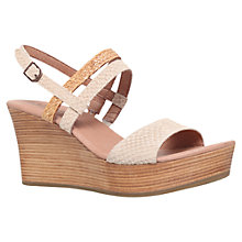 Buy UGG Lira Wedge Sandals, Pearl Online at johnlewis.com