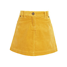 Buy John Lewis Girls' A-Line Corduroy Skirt Online at johnlewis.com