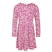 Buy John Lewis Girl Deer & Floral Flared Dress Online at johnlewis.com