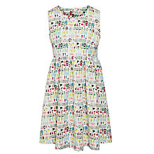 Buy John Lewis Girl Bright Cotton Prom Dress, Multi Online at johnlewis.com
