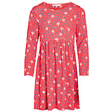 Buy John Lewis Girl Mini People Long Sleeve Jersey Dress Online at johnlewis.com
