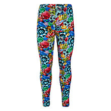 Buy John Lewis Girl Jewel Print Leggings, Multi Online at johnlewis.com