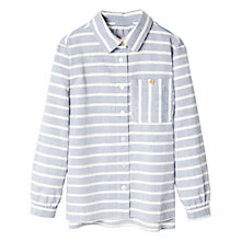 Buy Mango Kids Girls' Stripe Cotton Shirt Online at johnlewis.com