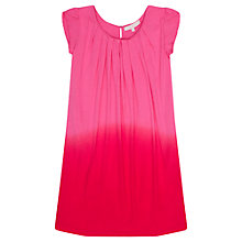 Buy Jigsaw Junior Girls' Dip Dye Flutter Dress, Pink Online at johnlewis.com