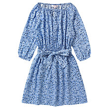 Buy Jigsaw Junior Girls' Ditsy Print Dress, Blue Online at johnlewis.com