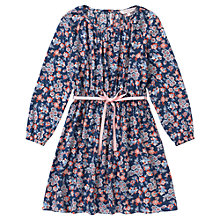 Buy Jigsaw Junior Girls' Floral Print Dress, Multi Online at johnlewis.com