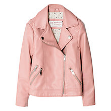 Buy Mango Kids Girls' Biker Jacket Online at johnlewis.com
