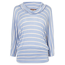 Buy Phase Eight Seda Striped Top, Chambray / Sand Online at johnlewis.com