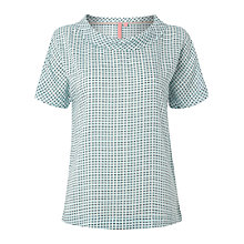 Buy White Stuff Amsterdam Check Top, Clear Sky Online at johnlewis.com