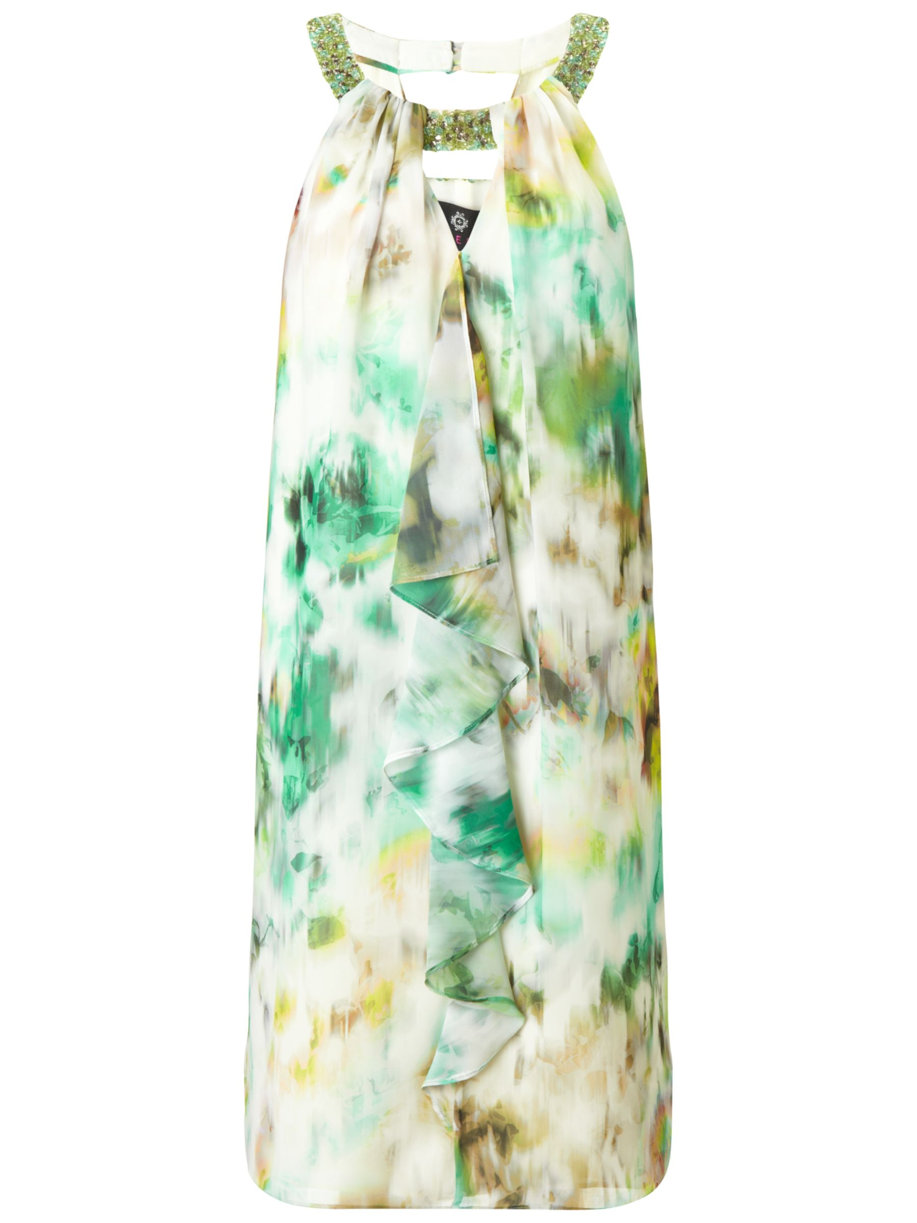 ariella heather frill front dress green/yellow, ariella, heather, frill, front, dress, green/yellow, 8|12|10|16|18|14, women, plus size, womens dresses, gifts, wedding, wedding clothing, female guests, 1857615