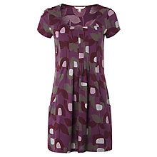 Buy White Stuff Tulip Short Sleeved Tunic Top, Misty Mauve Online at johnlewis.com