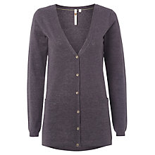 Buy White Stuff Vondelle Knit Cardigan, Dark Grey Online at johnlewis.com