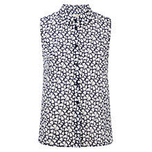 Buy Hobbs Mabel Shirt, Navy/White Online at johnlewis.com