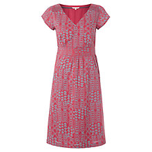 Buy White Stuff Lena Longboat Dress, Rosie Pink Online at johnlewis.com