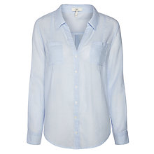 Buy Joie Porcelain Shirt, Pastel Blue/Porcelain Online at johnlewis.com