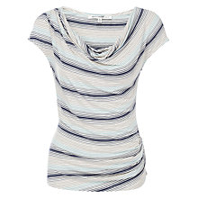 Buy Max Studio Stripe Top, Ivory/Wave Fine Multi Stripe Online at johnlewis.com