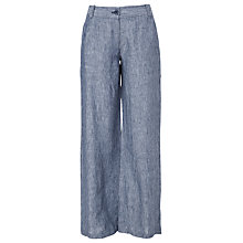 Buy Max Studio Wide Trousers, Indigo Online at johnlewis.com