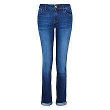 Buy DL Nineteen Sixty One Nikki Mid-rise Cigarette Jeans, Waverly Online at johnlewis.com