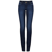 Buy DL Nineteen Sixty One Coco Curvy Straight Leg Jeans, Arklow Online at johnlewis.com