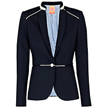 Buy Villagallo Sabrina Tailored Jacket, Navy Online at johnlewis.com