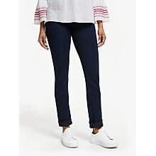Buy DL Nineteen Sixty One Coco Curvy Straight Leg Jeans, Flat Iron Online at johnlewis.com