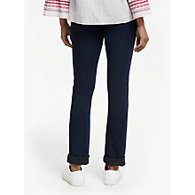 Buy DL1961 Coco Curvy Straight Leg Jeans, Flat Iron Online at johnlewis.com