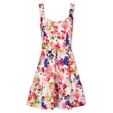 Buy Louche Floral Dress, Pink Online at johnlewis.com