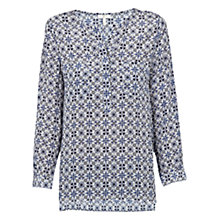 Buy Joie Nepal Silk Printed Blouse, Cielo Online at johnlewis.com