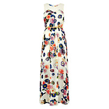 Buy Louche Kyla Lace Maxi Dress, Cream Online at johnlewis.com