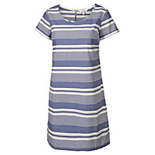 Buy Fat Face Bramley Stripe Dress, Blue Online at johnlewis.com