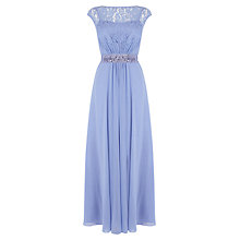Buy Coast Petite Lori Lee Maxi Dress, Cornflower Online at johnlewis.com
