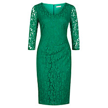 Buy Planet Lace Dress, Emerald Online at johnlewis.com