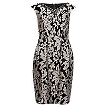 Buy Ted Baker Embellished Tulip Shape Dress, Black Online at johnlewis.com