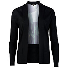 Buy Ted Baker Dedee Distinguishing Rose Wrap Cardigan, Black Online at johnlewis.com