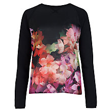 Buy Ted Baker Lanie Cascading Flora Jumper, Multi Online at johnlewis.com