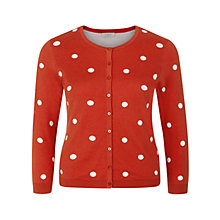Buy Hobbs Isabella Cardigan, Grenadine Online at johnlewis.com