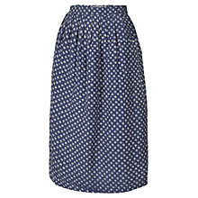 Buy Fat Face Batik Star Mixed Skirt, Navy Online at johnlewis.com
