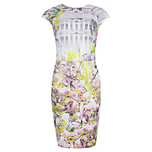 Buy Ted Baker Window Blossom Dress, Light Purple Online at johnlewis.com