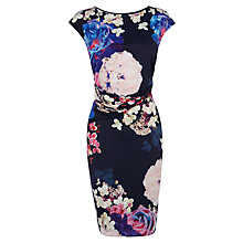 Buy Coast Petite Surella Dress, Navy Online at johnlewis.com