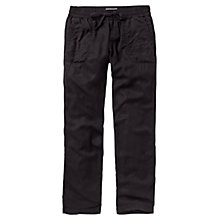 Buy Fat Face Tencel Trousers, Phantom Online at johnlewis.com