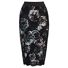Buy Coast Kunis Skirt, Black Online at johnlewis.com