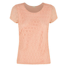 Buy Planet Circle Lace Top Online at johnlewis.com