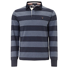 Buy Gant Bar Stripe Rugby Shirt Online at johnlewis.com