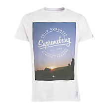 Buy Supremebeing Festival Print T-Shirt, White Online at johnlewis.com
